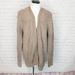 Anthropologie|Moth Brown Knit Oversized Sweater